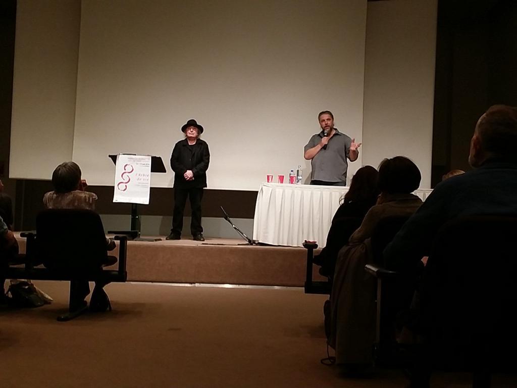Thumbnail for Serge Pey et David Giannoni pour les arbres du poème