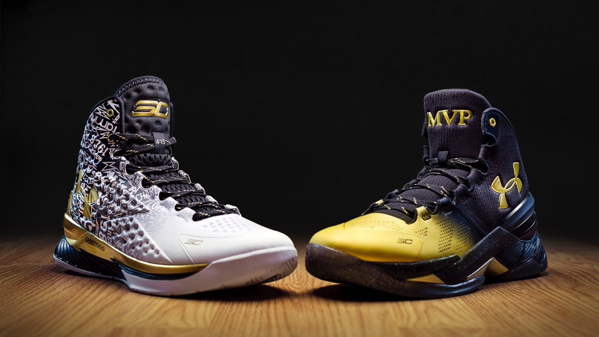 4850f0a27f53 StephenCurry30 went  Back2Back to  BreakTheGame. The MVP Pack drops 6.24.  Pre-order now  http   undrarmr.co BackToBack pic.twitter.com k6J2xU7l2w