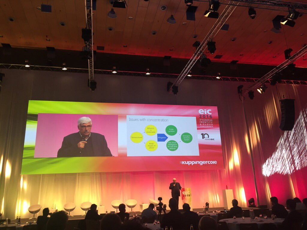 Kim Cameron on stage. #eic16 https://t.co/9I6hauGwUD