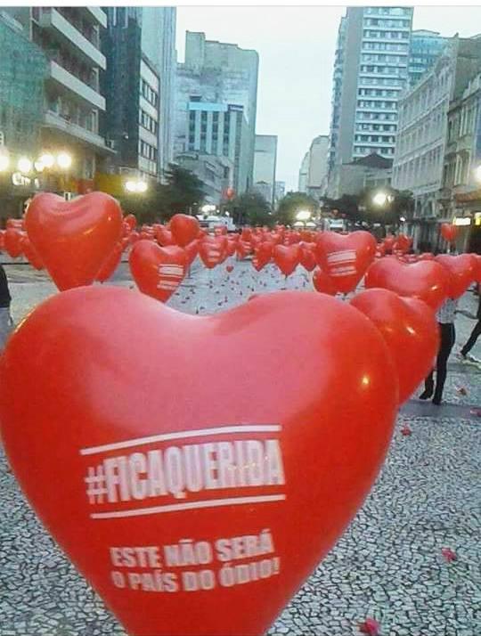 #OcupaTudoContraOGolpe Curitiba amanheceu cheia de amor contra o golpe! https://t.co/mpvoCTX7dT