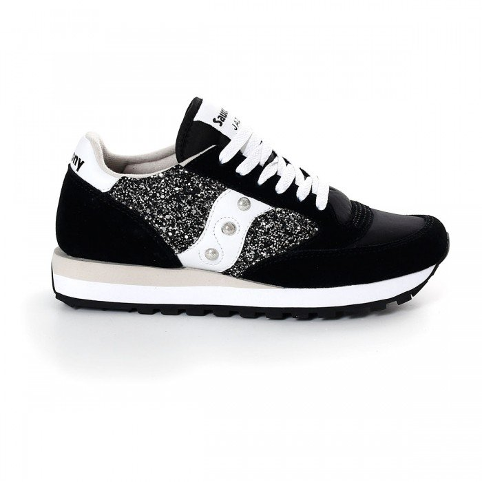 Black Glitter Jazz Shoes