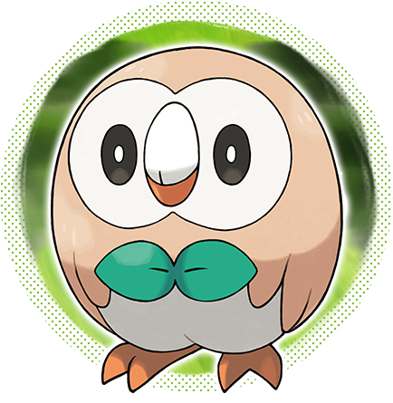 Pokeshopper Picture : HQ artwork for Pokémon Sun & Moon starter Rowlet http://Pokeshopper.com/news.html
