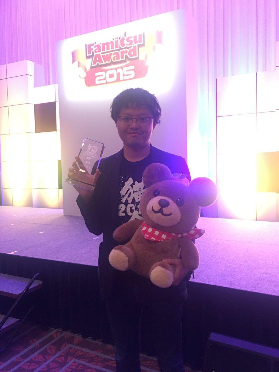 【白猫】「ファミ通アワード2015」優秀賞受賞を記念して「ファミ通アワード記念像」の再配布が決定!【プロジェクト】