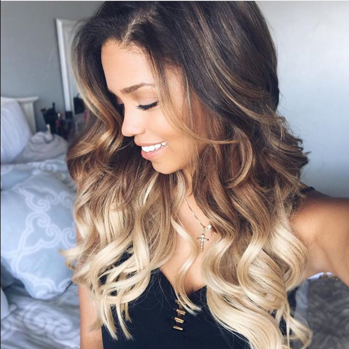 Foxy locks hair on twitter we love ombr - Ombre blond braun ...