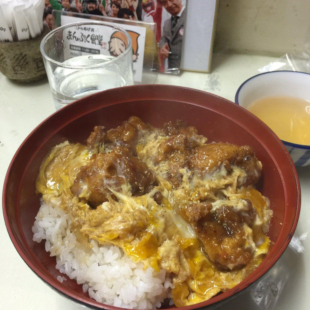 い、伊勢、、、、@ayu24taki: @tsubu_ellie まんぷく食堂のからあげ丼
