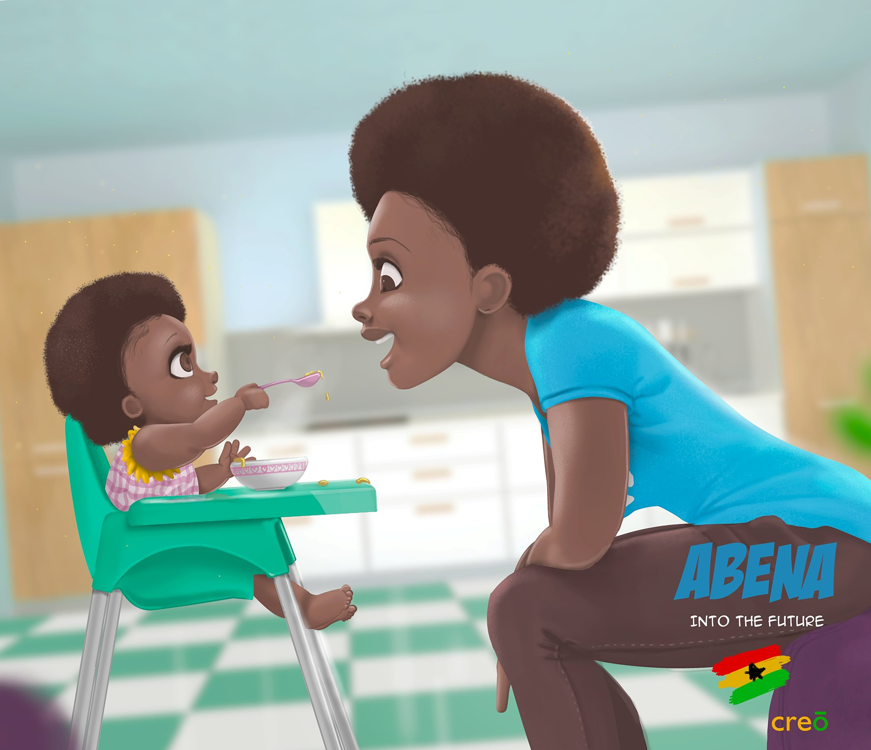 "Creo Concepts On Twitter: ""Abena The Great Mother. Follow"