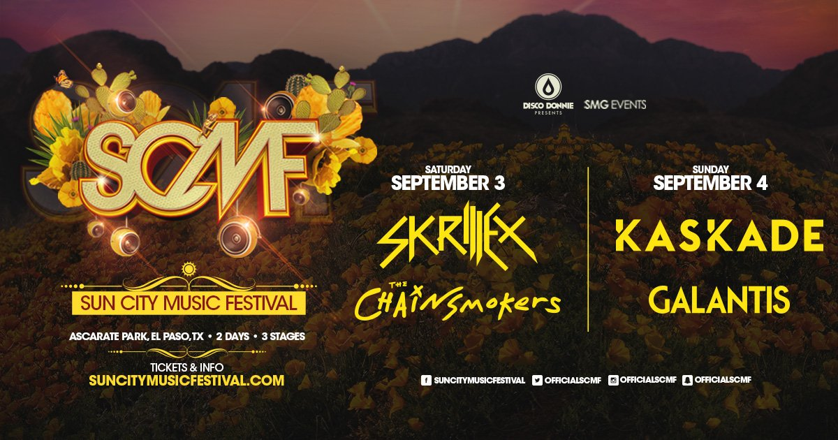 Announcing the headliners that will be adding the soundtrack to your memories at #SCMF2016  https://t.co/91RhE8XH0J https://t.co/nmqTfN8hZe