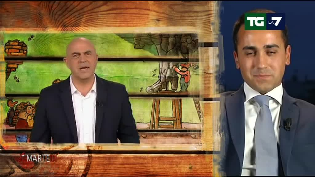 "Crozza DiMartedì: Boschi dice ""Chi vota NO a referendum è come Casa Pound"""
