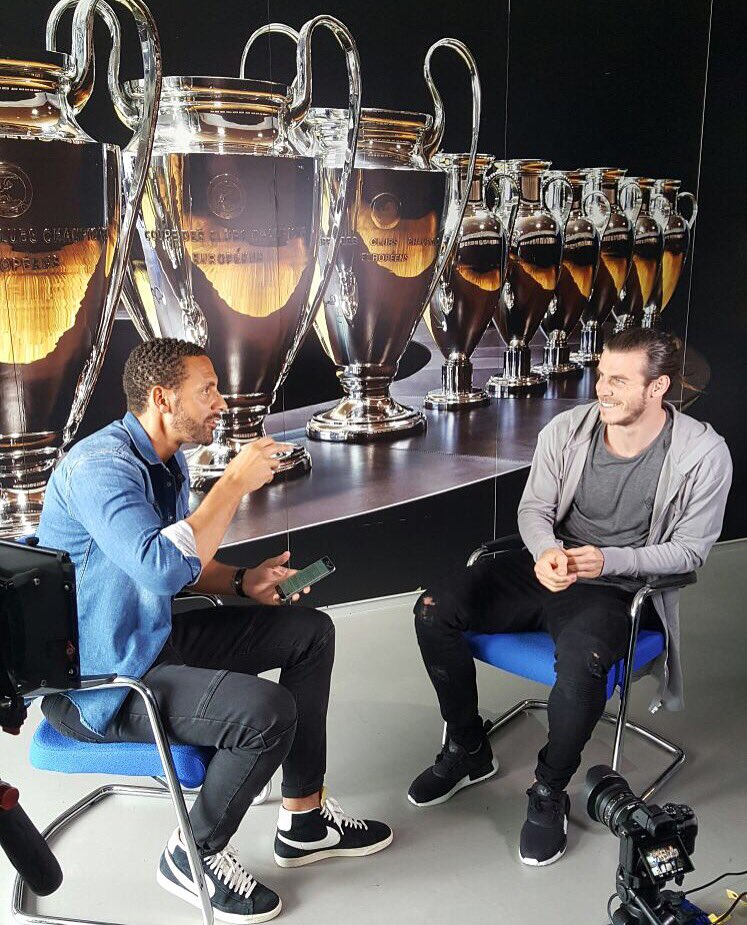 Decent time in #Madrid interviewing @GarethBale11 ahead of the @ChampionsLeague final ✌🏽️ https://t.co/ljjw5PEcmG