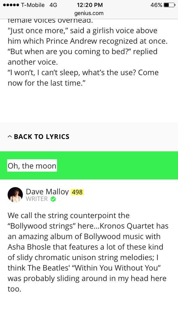 dave malloy on Twitter: