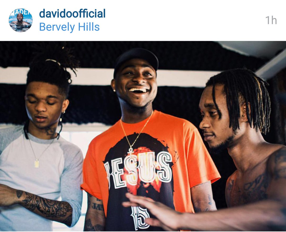 #Davido going in. With #Raesremmurd and #TINASHE. https://t.co/jtByLI6B8d