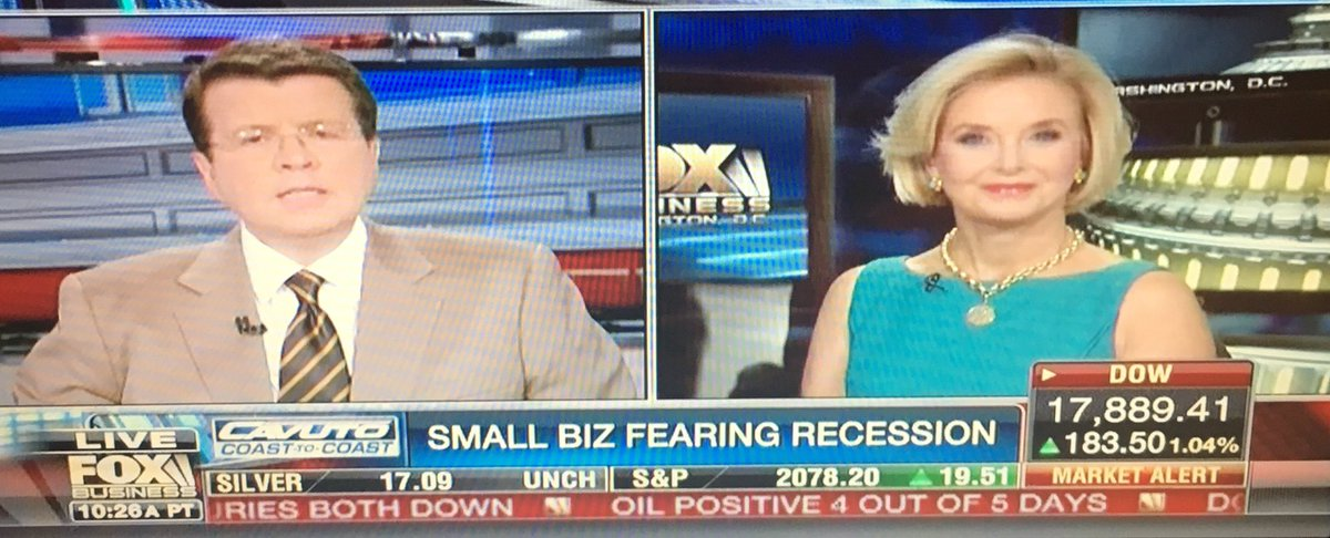 Kelly Klass On Twitter Nfib President And Ceo Juanita Duggan Talked Smallbusiness On Foxbusiness Teamcavuto Today