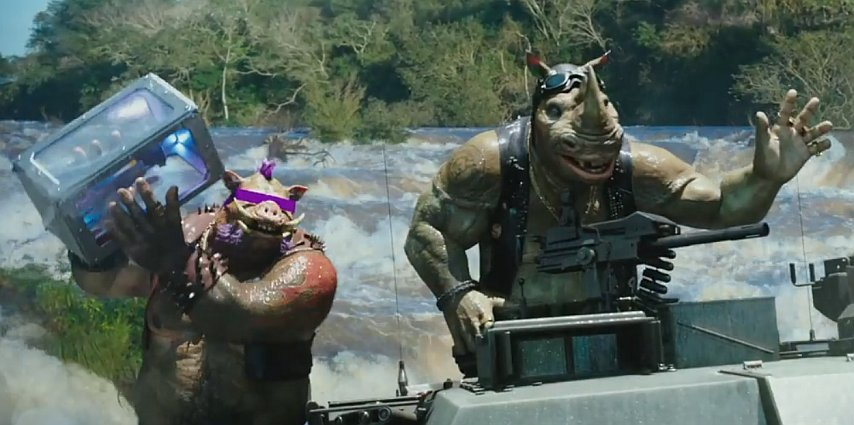 Teenage Mutant Ninja Turtles: Out of the Shadows Trailer Featuring Bebop & Rocksteady 2