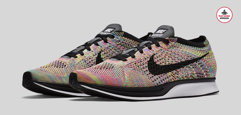 3713ea4396b6 the nike flyknit racer rainbow arrives in stores and online this friday  stores