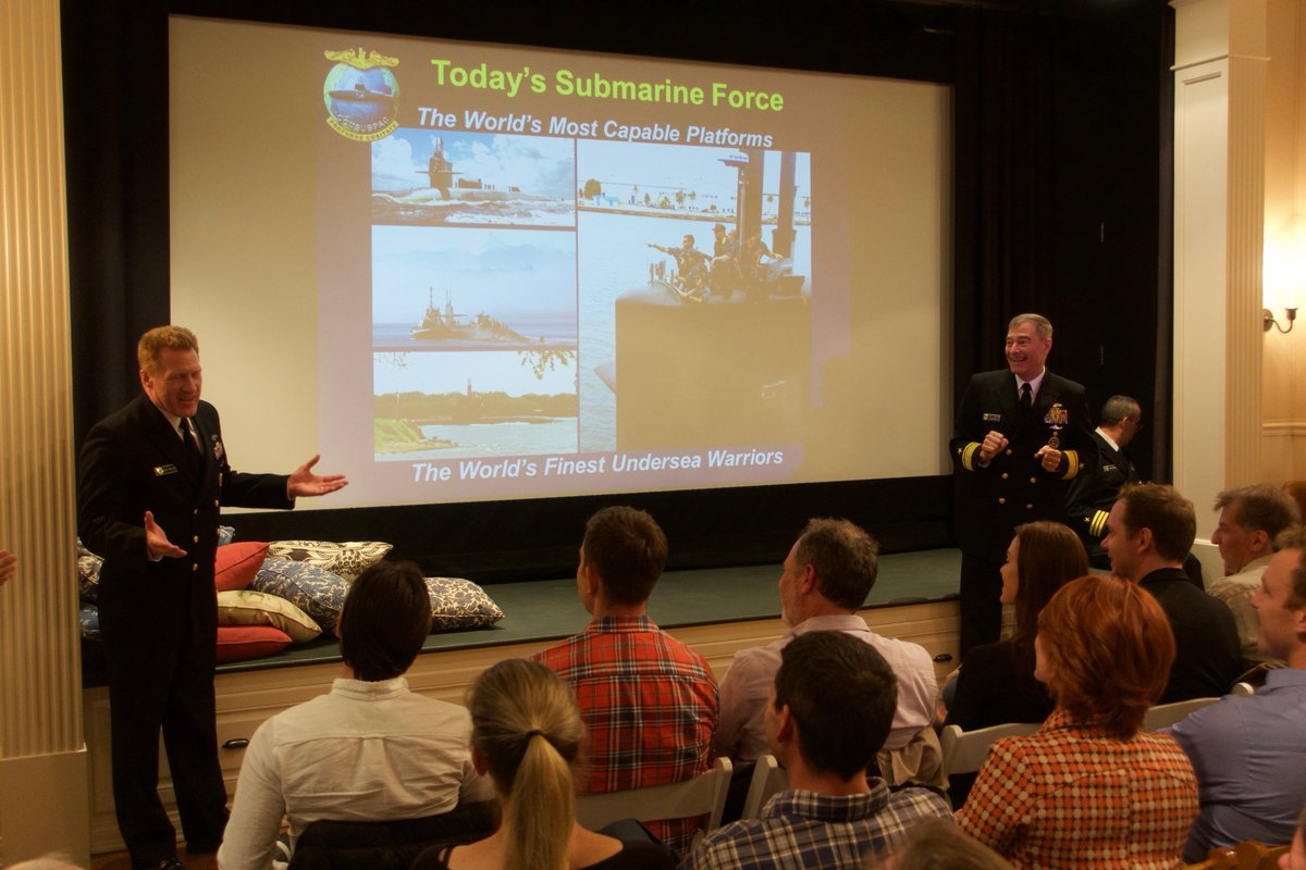 The Science of Submarine Warfare with The Force & Admiral Roegge of the U.S. Navy