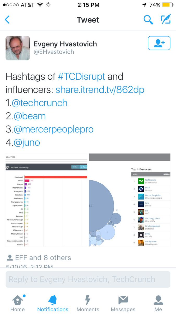 Nice work @mercerpeoplepro !  A @tcdisrupt influencer.