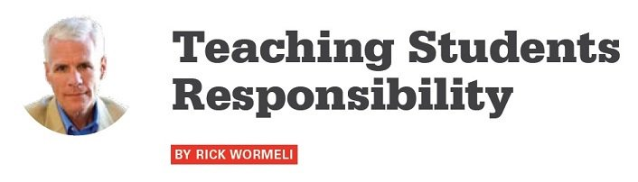 An F doesn't teach students self-discipline. What does? @rickwormeli2 offers strategies https://t.co/QfKrgHnLz0 #SEL https://t.co/aTECqa3JHT