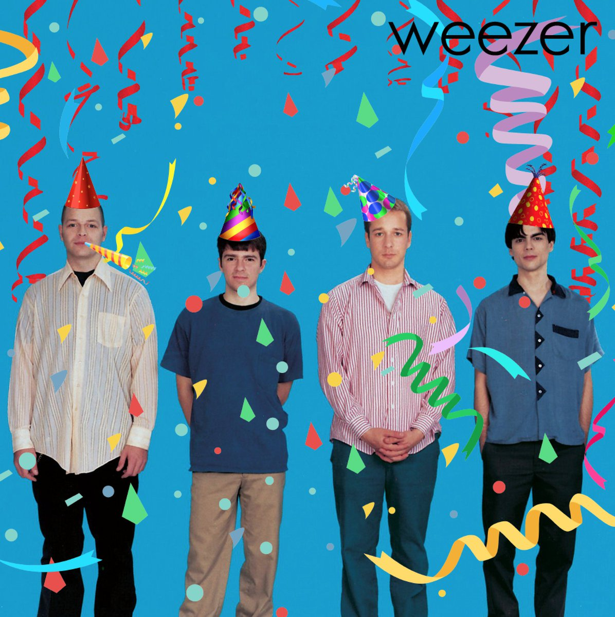 Blue Album came out 22 years ago today. You're my boy blue! https://t.co/K73IDWqtSZ