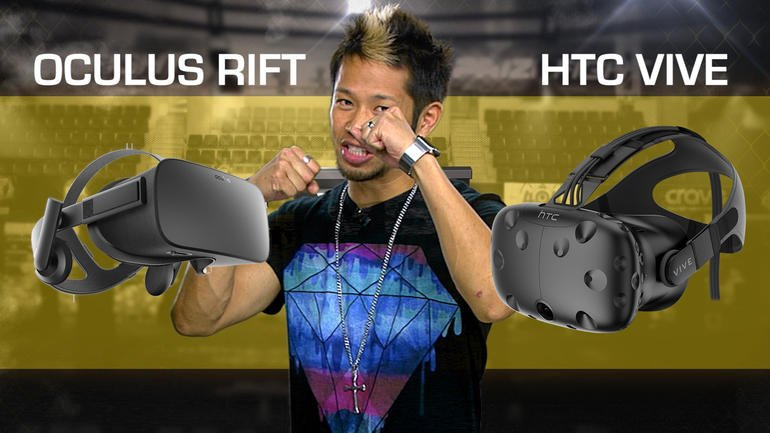 Oculus Rift vs. HTC Vive video – CNET