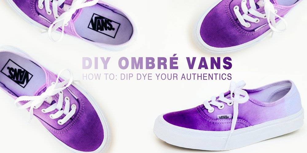 d922a18bf370  DIY your Vans to ombré perfection. Step-by-step tutorial on the  VansGirls  blog  http   bit.ly 1OmI0Hb pic.twitter.com dg8IgrlJ8A