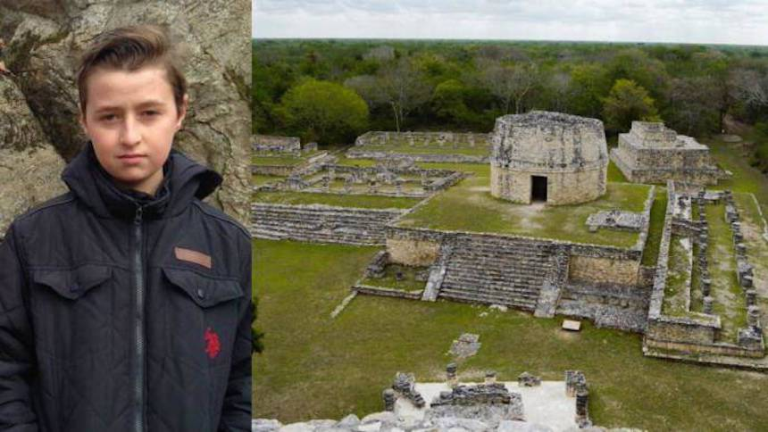 Ragazzo 15enne scopre nuova città Maya