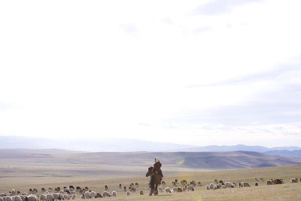 乙嫁語りのコスプレを大草原で撮りたくて、モンゴルへ飛びました。この写真は今年の冬コミでの頒布を目標にしている写真集に収録予定。愛を詰め込んだ衣装と写真そしてモンゴルの美しい風景をぜひ見てほしいです  photo:@airmaker
