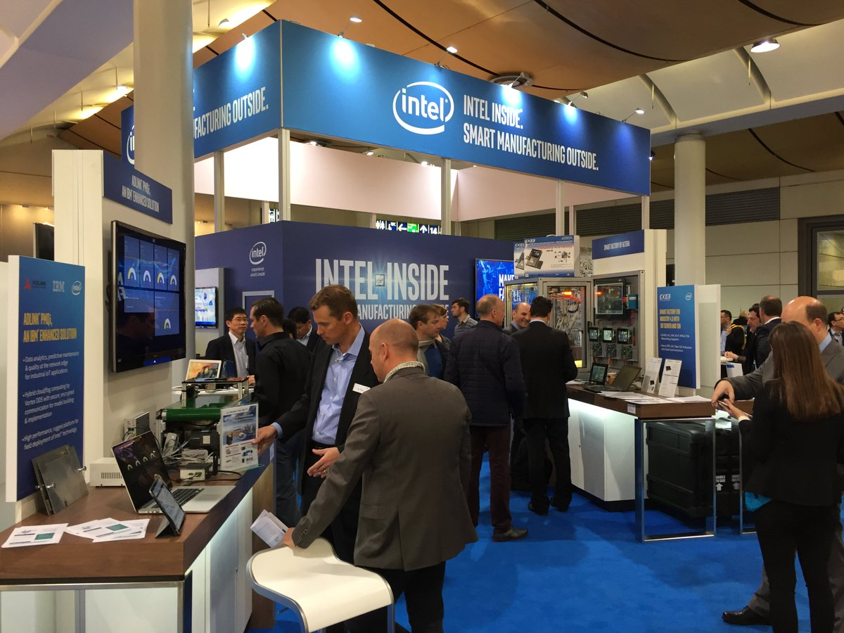Intel IoT at HANNOVER MESSE 2016