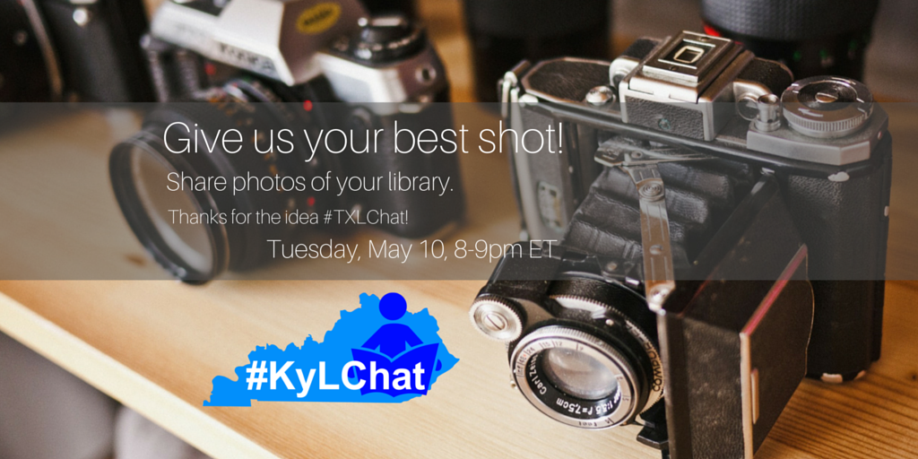 On hour until #KyLChat Bring you pictures... #TLChat @KASL_Librarians @heidinelt @HCHSLibrarian @StephGriff1 https://t.co/rRKZYPXGtr