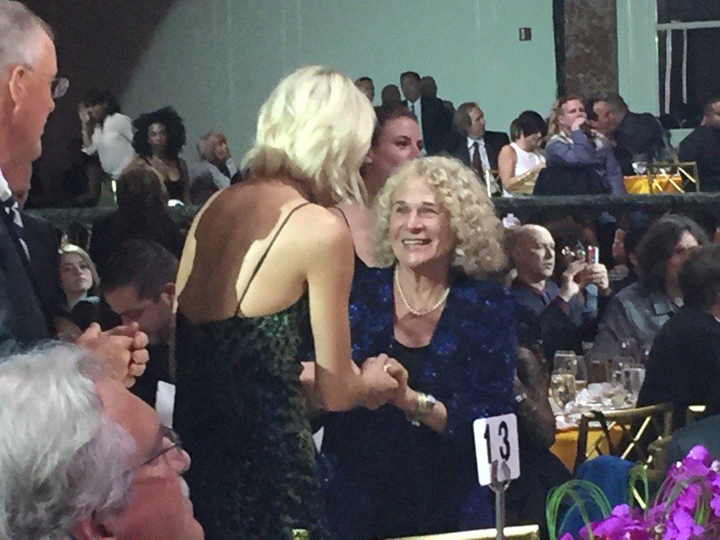 At BMI Pop Awards where @taylorswift13  meets music legend Carole King. https://t.co/3l1dzm0U18