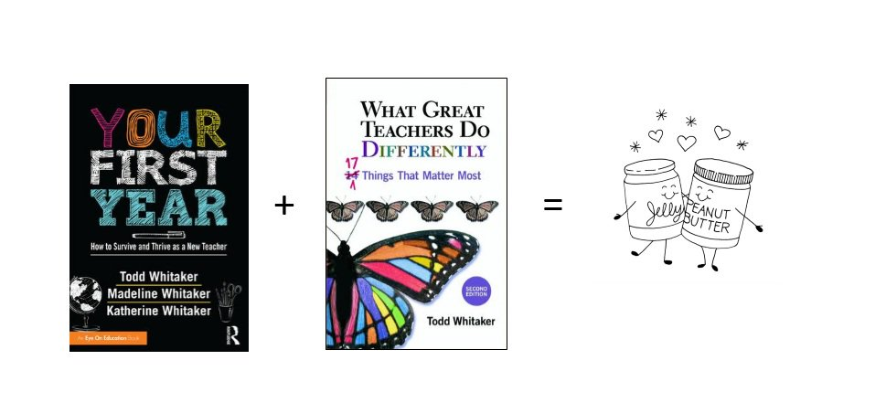 Planning PD? Consider Your First Year for new Ts & What Great Teachers Do Differently for other staff. Perf pairing! https://t.co/8bXwdaoBd2
