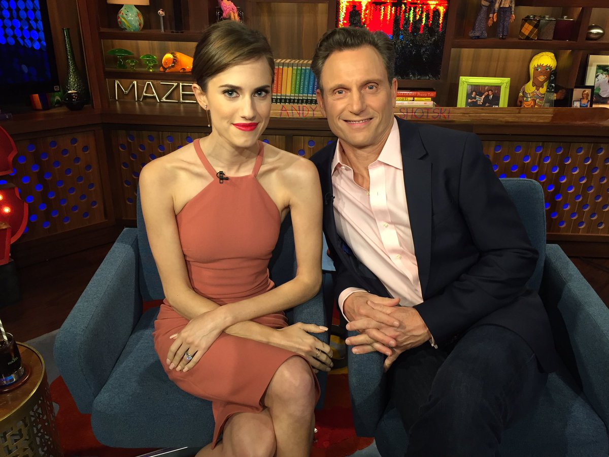 Allison Williams andy cohen