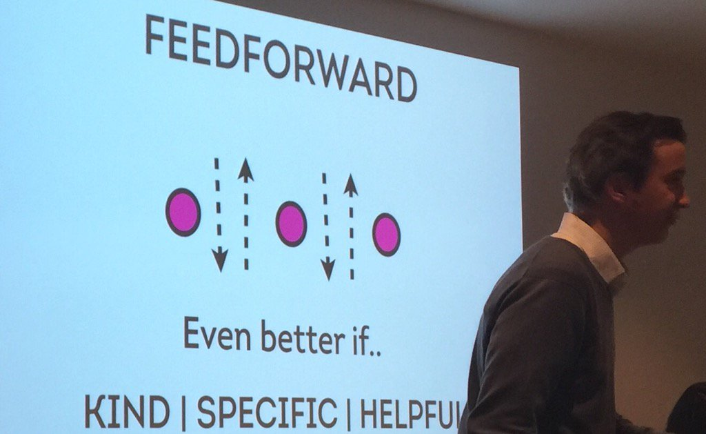 Have ideas? Feed forward #notosh #slavconf kind, specific, helpful https://t.co/lqZCLoAf8n