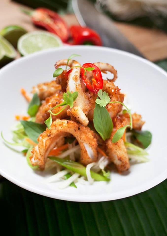 Рецепт кальмары с креветками