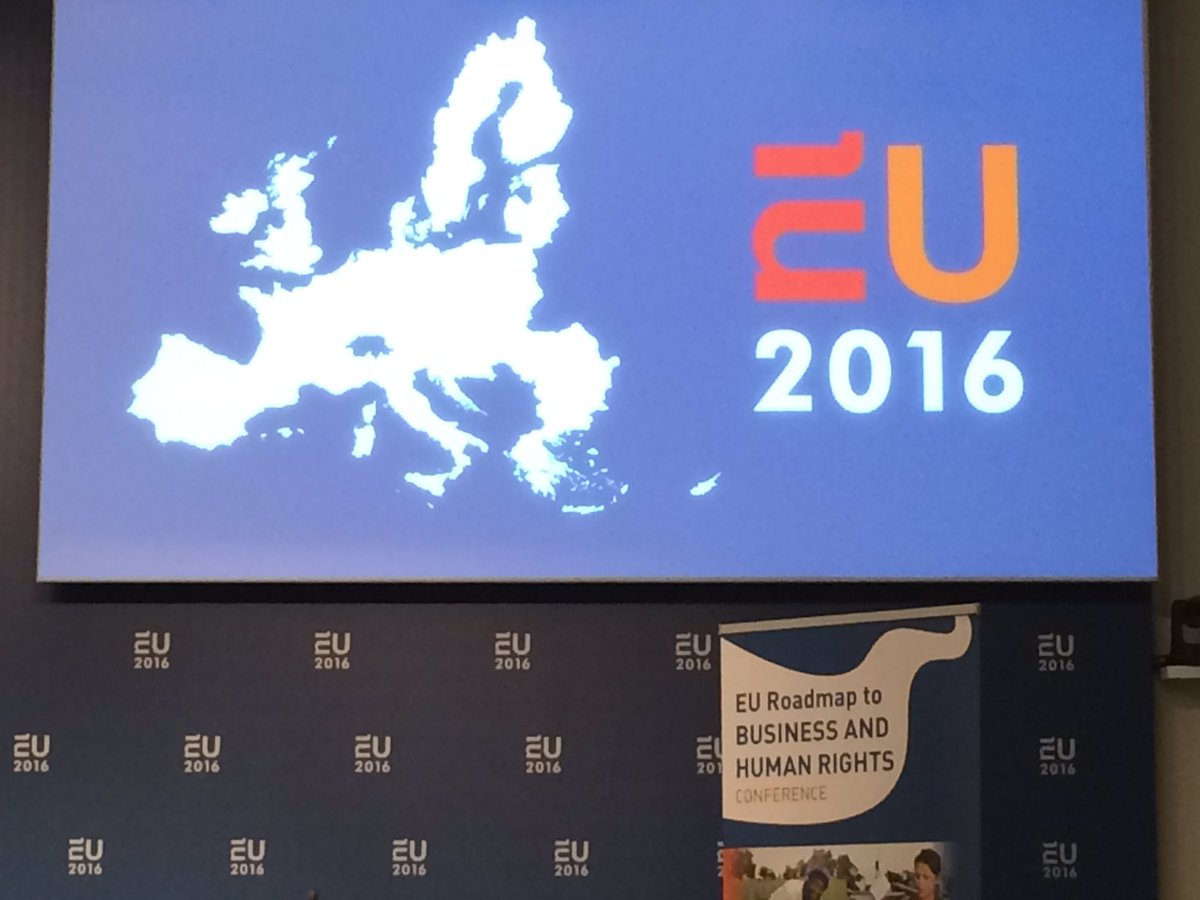 #EU4HumanRights La journée d'échange sur Entreprises et droits de l'homme commence dans quelques minutes https://t.co/ai9IwW9AOS