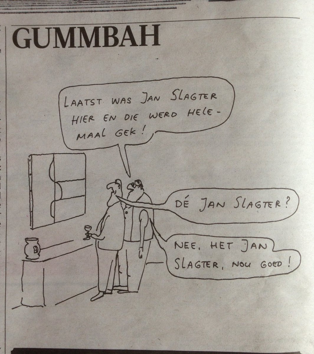 Dé Jan Slagter. #gummbah https://t.co/JImULTiv10