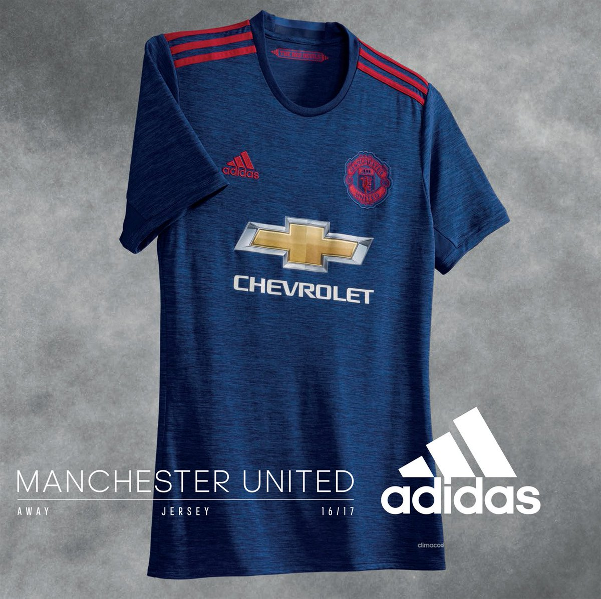 Introducing the new United away shirt for 2016/17. Available now: http://bddy.me/1YldR0p
