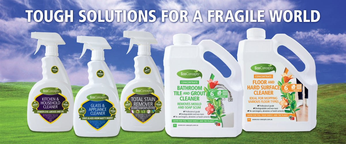 Seen the cleaning products range that really looks after the environment? It's EcoConcepts: https://t.co/y41Qtpu7C9