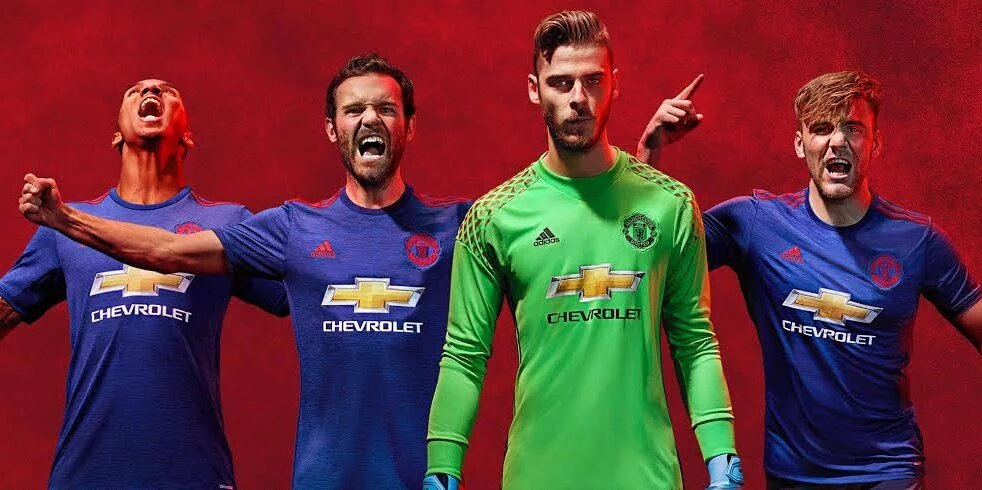 33c8c0e51 Manchester United have become the latest club to confirm one of their kits  for next season after the club unveiled it s new away kit ahead of the 2016  17 ...