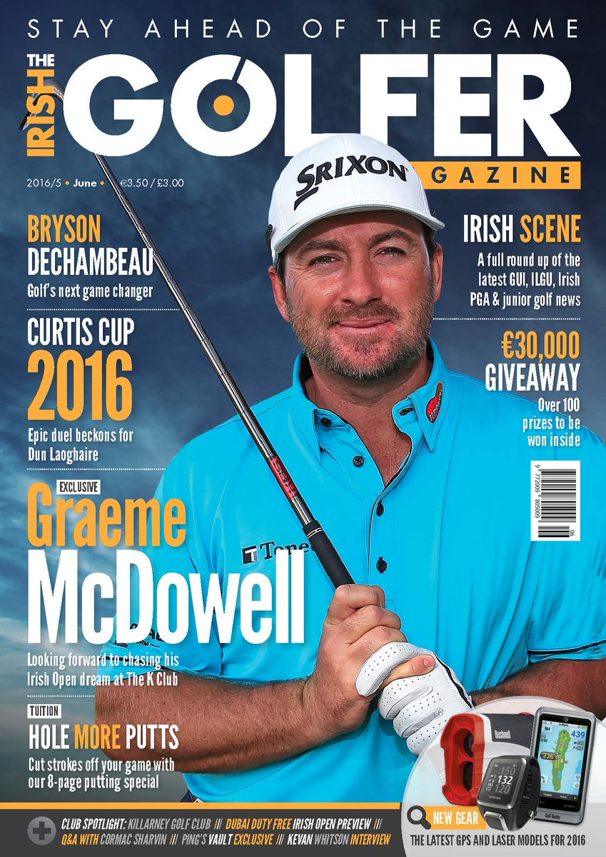 Our latest offerings in @IrishGolferMag pgprcreative.com/?p=369 @Irish_Open @RCDproshop pgprcreative.com/?p=369