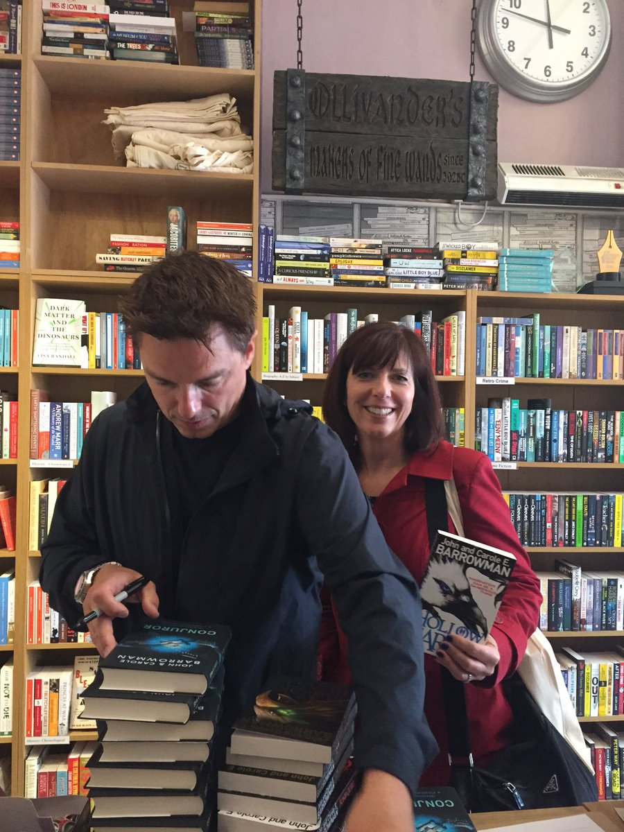 @BarrowmanCrime @Team_Barrowman  thanks again for a lovely visit and signing all those books https://t.co/ypgUX6OeZW