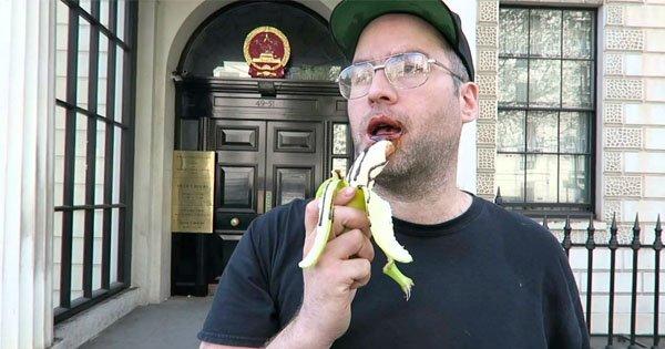 banane lutschen
