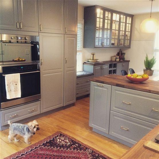 Stack Ikea Kitchen Cabinets