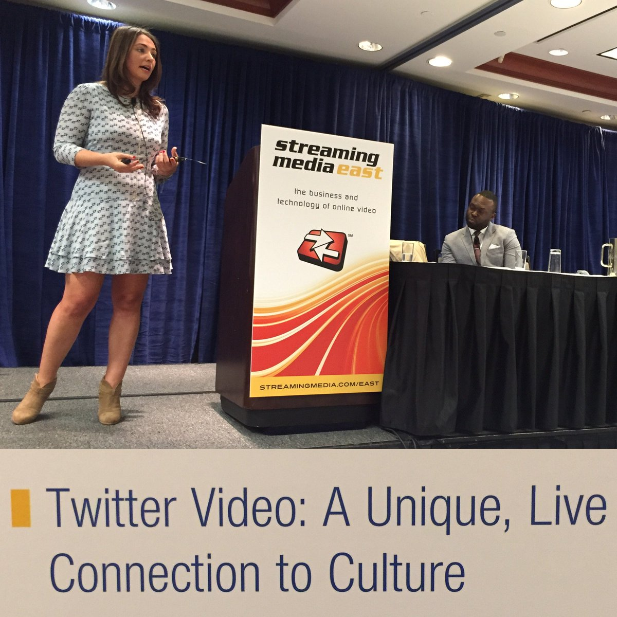 Twitter's Nina Mishkin speaking right now at #smeast - Retweet for a chance to win a #firetv @mishkin @twitter https://t.co/KDTkJbiAr8