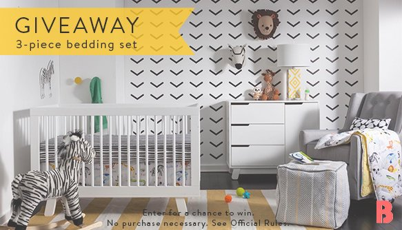It's giveaway time! RT today for a chance to win a 3-piece nursery set from @sabrinasoto's new line @Target https://t.co/Y6lfSHAKY1