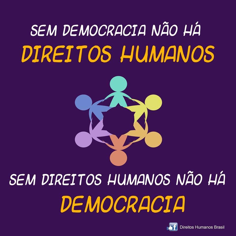 Direitos humanos mdh on twitter sem democracia n o h direitos humanos e sem direitos humanos n o h democracia