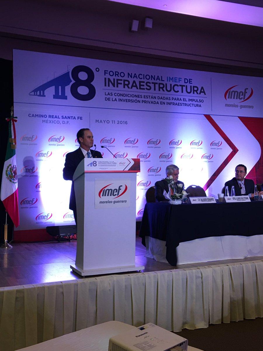Si no hay infraestructura,  no habrá competitividad en el país @IMEFOficial @joaquingandara https://t.co/tLtsLivdSs