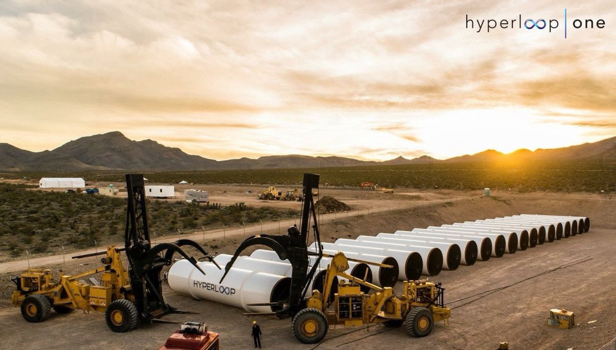 Hyperloop One, il trasportatore magnetico