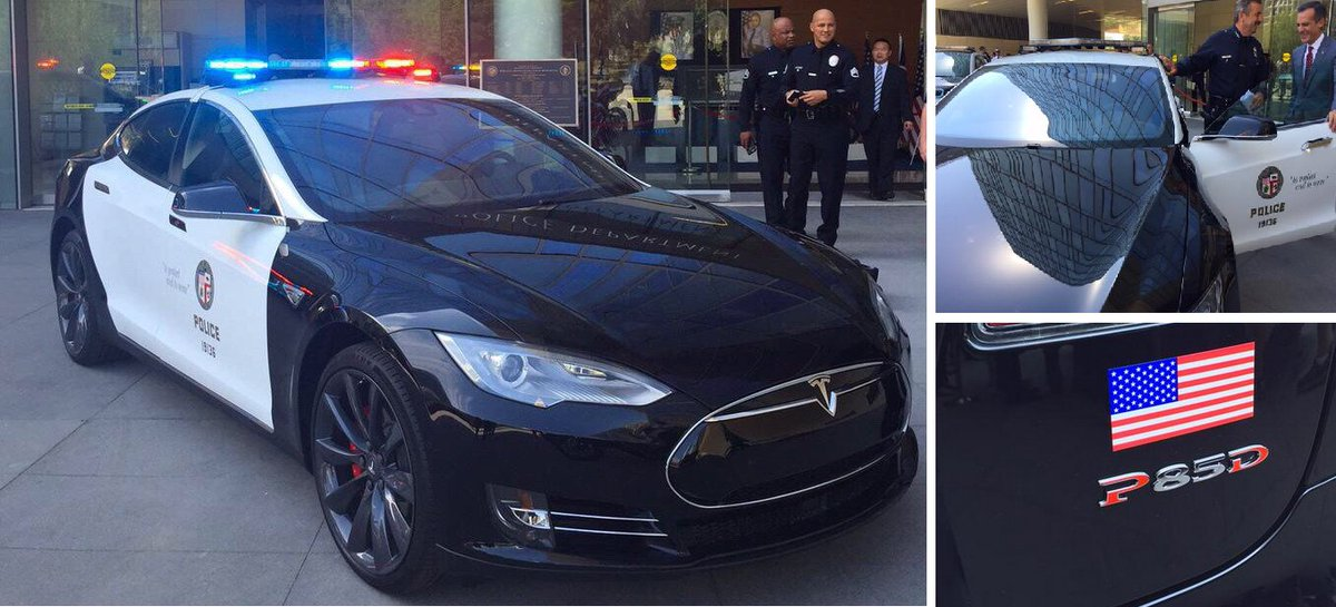 The LAPD Could Someday Chase You Down in a Tesla