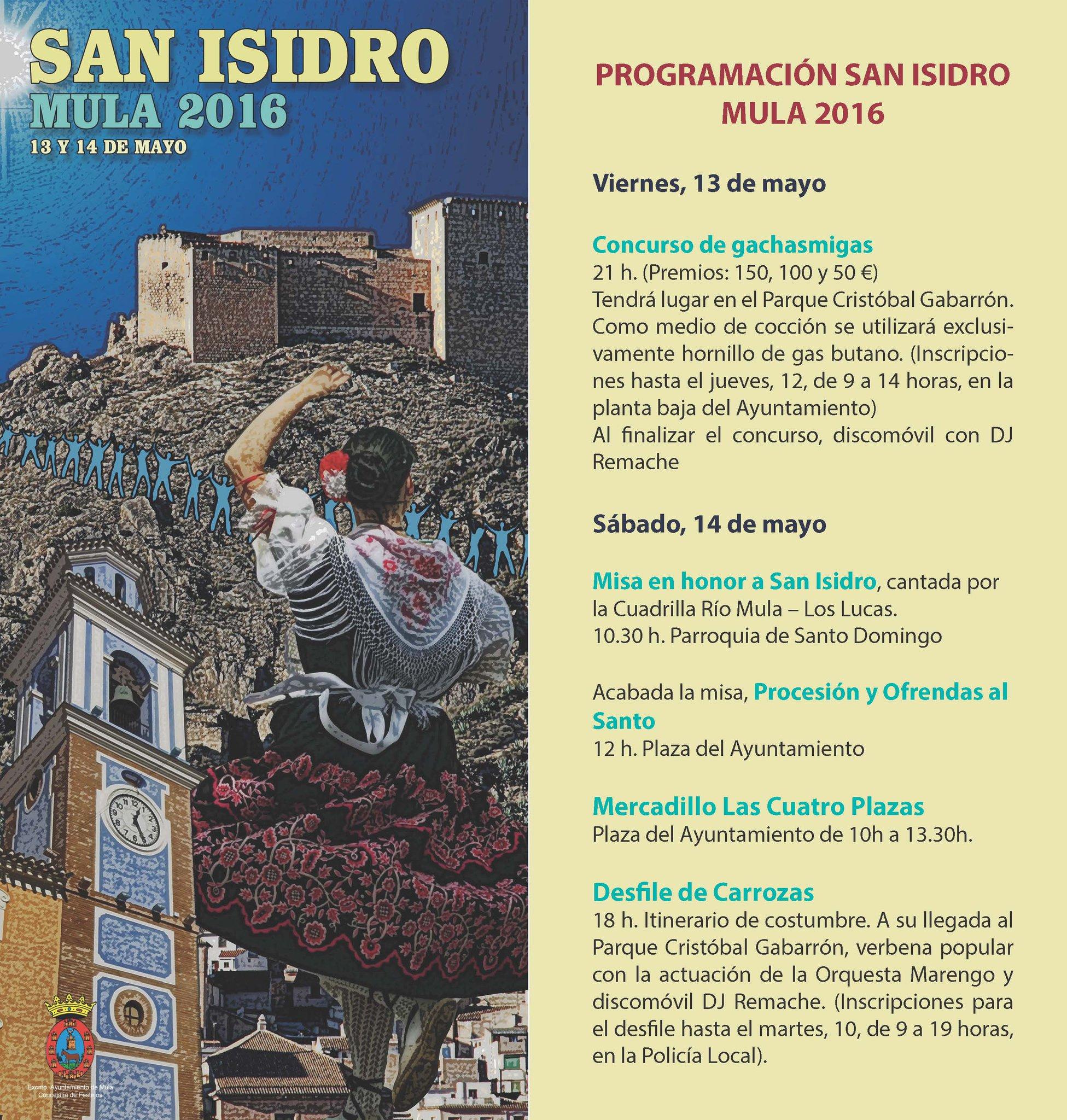 Fiestas de san isidro mula 2016 la gu a w la gu a for Juzgado san isidro