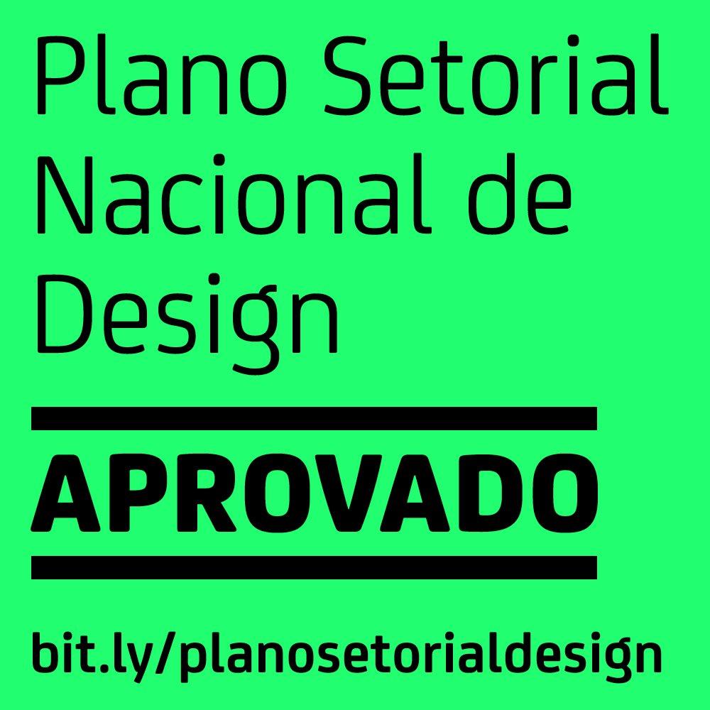 Plano Setorial Nacional de Design APROVADO hoje em Brasília! Conheça: https://t.co/NrJoBnPZPd #setorialdesign https://t.co/uxIYWIkEiG